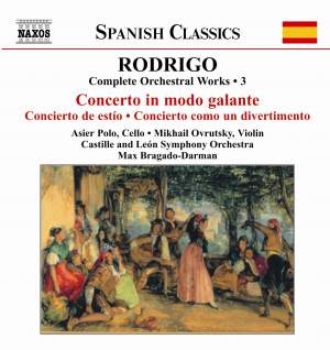Rodrigo: Complete Orchestral Works, Vol. 3 Product Image
