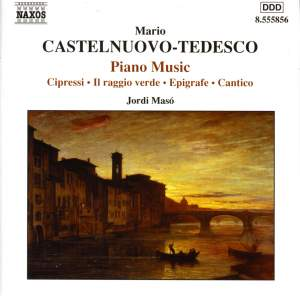 Castelnuovo-Tedesco - Piano Music Product Image