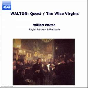 Walton: The Quest, Siesta & The Wise Virgins Product Image