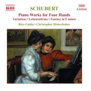 Schubert - Piano Works for Four Hands Volume 4 Product Image
