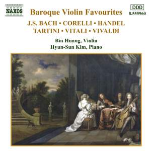 Baroque Violin Favourites Product Image