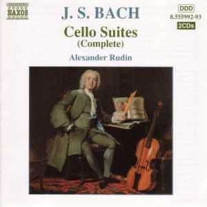 JS Bach: Cello Suites & Partita for solo violin No. 2 (arranged for cello) Product Image