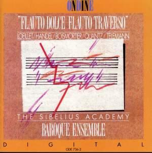 Flauto Dolce - Flauto Traverso