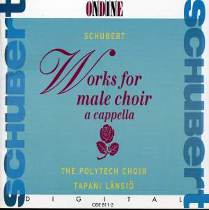 Schubert: Works for Male Choir a cappella Product Image