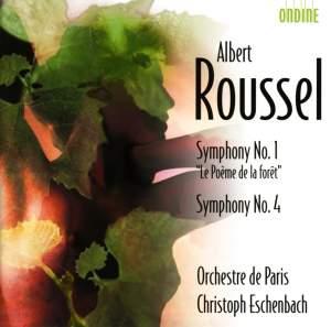 Roussel - Symphonies Nos. 1 & 4 Product Image
