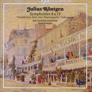 Röntgen - Symphonies Nos. 8 & 15