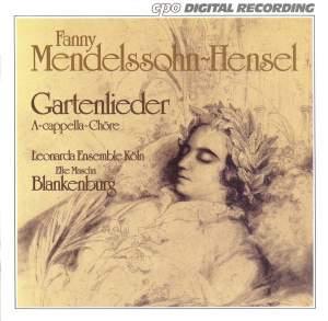 Mendelssohn, Fanny: Gartenlieder, Op. 3