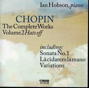 Chopin: The Complete Works, Vol. 2, 'Hats Off'