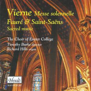 Vierne: Messe solennelle, Fauré & Saint-Saens: Sacred Music