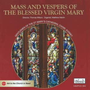 Mass And Vespers Of The Blessed Virgin Mary Product Image