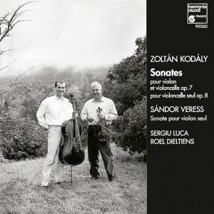 Kodaly & Veress: Violin & Cello Sonatas
