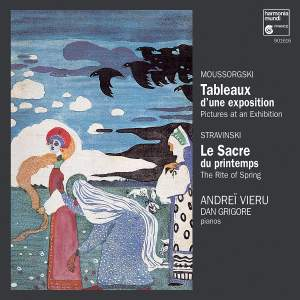Mussorgsky: Pictures at an Exhibition & Stravinsky: The Rite of Spring Product Image