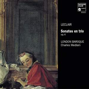 Leclair, J-M: Six Sonatas for Strings Op. 4