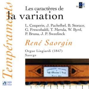 Les caractères de la variation (Orgue Lingiardi, Saorge)