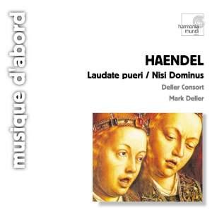 Handel: Laudate Pueri, Nisi Dominus & Salve Regina