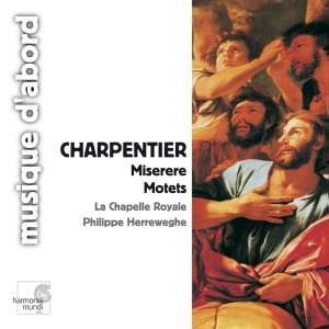Charpentier: Miserere, Motets