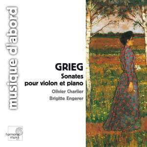 Edvard Grieg: Sonatas for violin & piano