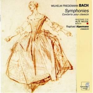 Bach, W F: Sinfonia in D major, F. 64, etc.