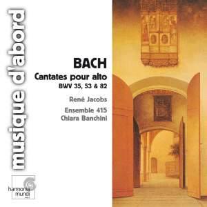Bach - Alto Cantatas