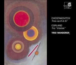 Shostakovich & Copland - Piano Trios