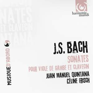 J S Bach: Sonatas for viola da gamba & harpsichord obligato