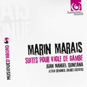 Marais, M: Suites for viola da gamba and continuo