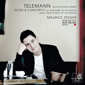 Telemann - Suites & Concertos for recorder & orchestra Product Image