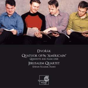 Dvorak: String Quartet No. 12 in F major, Op. 96 'American', etc.