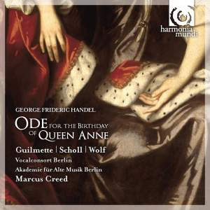 Handel - Ode for the Birthday of Queen Anne