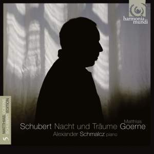 Schubert Lieder Volume 5: Nacht und Träume