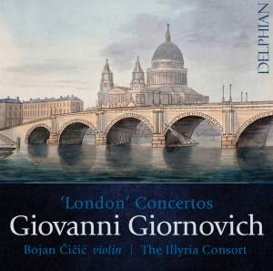 Giornovich: London Concertos