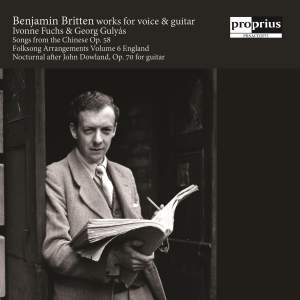 Britten: Works for Voice & Guitar