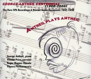Antheil plays Antheil (1942-1952) Product Image