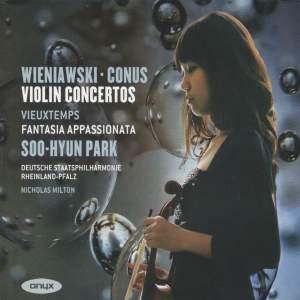 Wieniawski & Conus: Violin Concertos