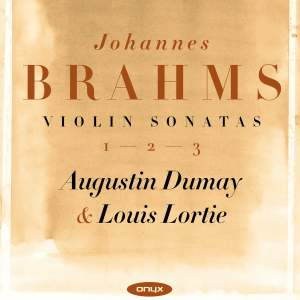 Brahms: The Three Violin Sonatas
