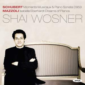 Shai Wosner plays Schubert & Mazzoli
