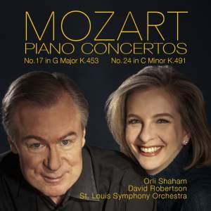 Mozart: Piano Concertos Nos. 17 & 24 Product Image