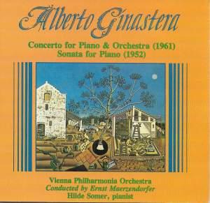 Ginastera: Piano Sonata No. 1 & Piano Concerto No. 1