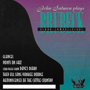 John Salmon Plays Dave Brubeck Piano Compositions Product Image