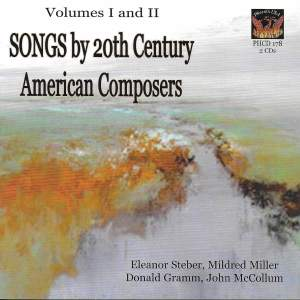 Songs by 20th Century American Composers, Vol. 1 & 2