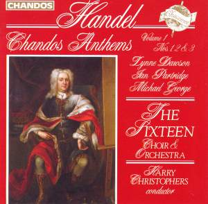 Handel - Chandos Anthems Volume 1