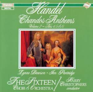 Handel - Chandos Anthems Volume 2