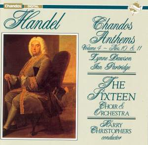 Handel - Chandos Anthems Volume 4