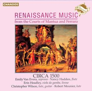 Renaissance Music from the Courts of Mantua and Ferrara Product Image