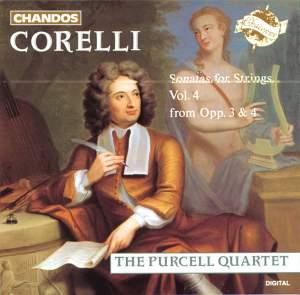 Corelli: Sonatas for Strings, Opp. 3-4, Vol. 4
