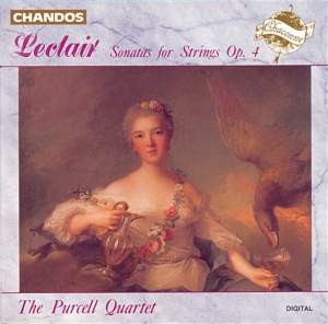 Leclair, J-M: Six Sonatas for Strings Op. 4 Product Image