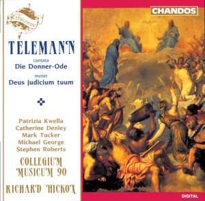 Telemann: Die Donner-Ode & Deus judicium duum