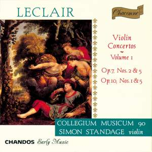 Leclair - Violin Concertos Volume 1 Product Image