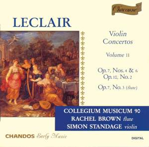 Leclair - Violin Concertos Volume 2