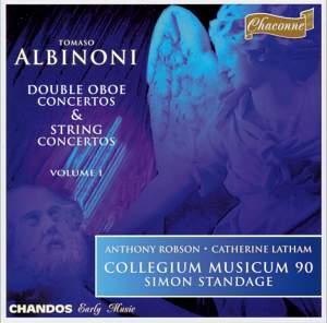 Albinoni: Double Oboe Concertos & String Concertos Volume 1 Product Image